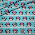 Original Walt Disney Baumwollstoff Minnie Maus türkis