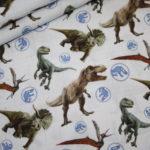 Original Jurassic World Dinosaurier Baumwollstoff