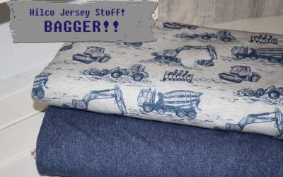 Hilco Bagger Jersey Stoff!