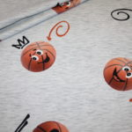 Hilco French Terry Jersey Stoff Basketball