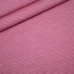 Bella Jersey Stoff Mini Ringel rosa rosa
