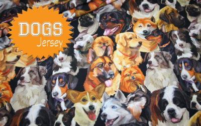 Neue Hunde Jersey Stoffe!
