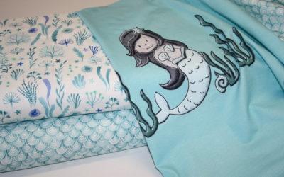 Hilco Mermaid Jersey Stoffe!