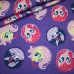 Original My Little Pony Jersey Stoff