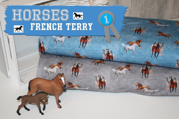 Pferde French Terry Sweat!