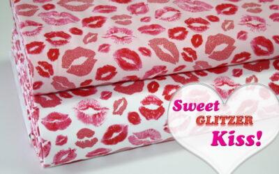 Lipp Kiss mit GLITZER!
