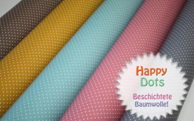 Beschichtete Baumwolle – Neue Farben!!