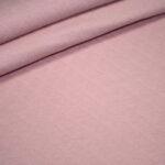 Stepp Jersey Stoff uni rosa