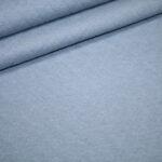 Stepp Jersey Stoff uni hell blau